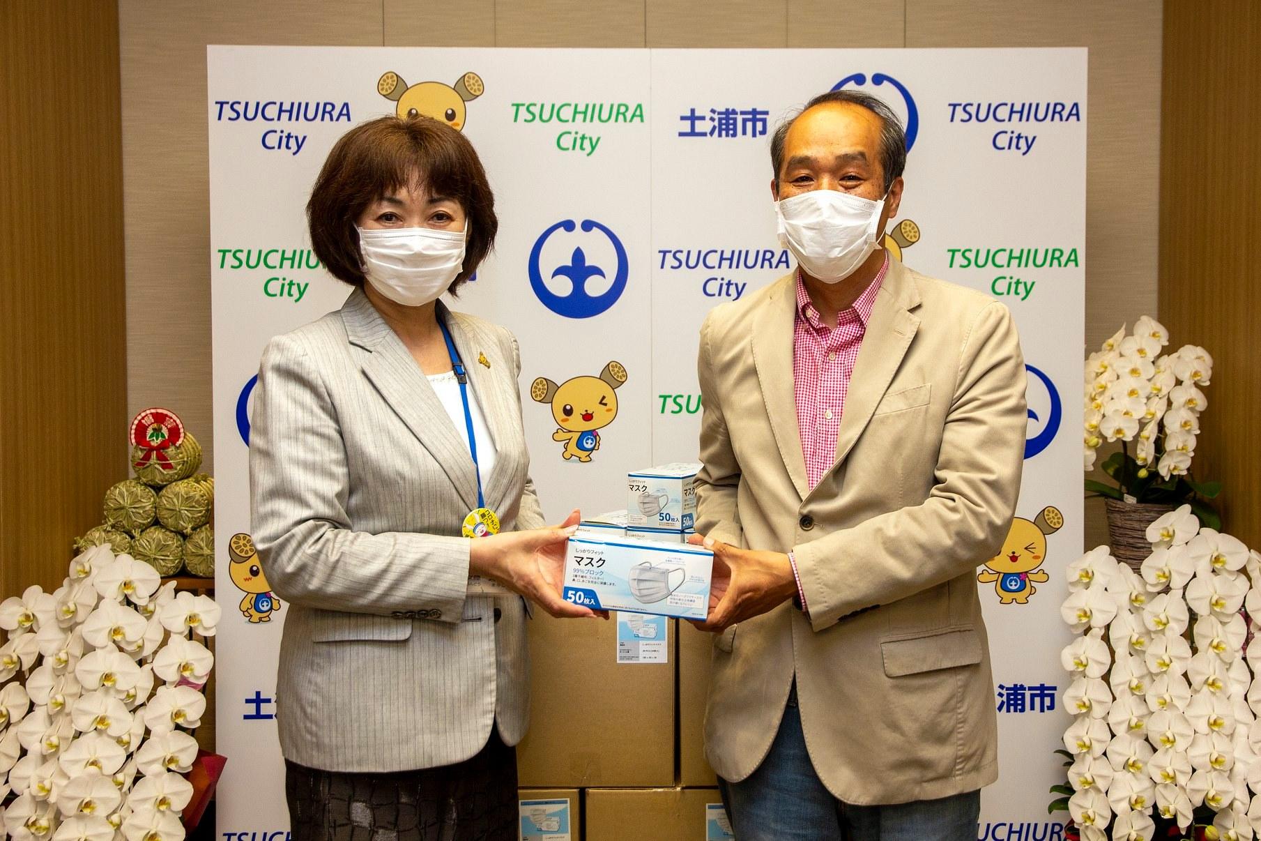 マスク5,000枚のご寄付page-visual マスク5,000枚のご寄付ビジュアル