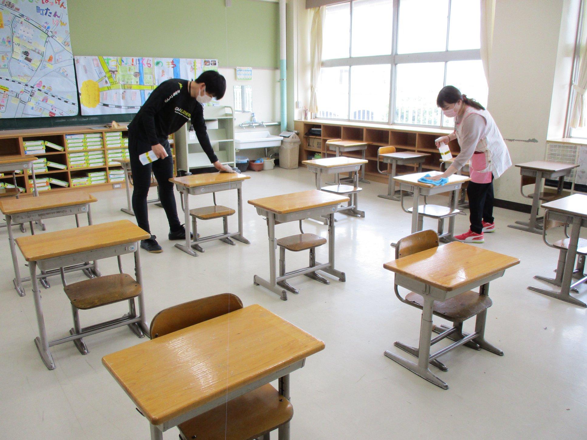 学校の再開に向けた分散登校が5月27日から始まりますpage-visual 学校の再開に向けた分散登校が5月27日から始まりますビジュアル