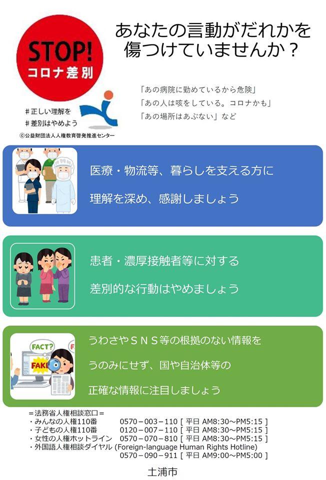 STOP!コロナ差別page-visual STOP!コロナ差別ビジュアル