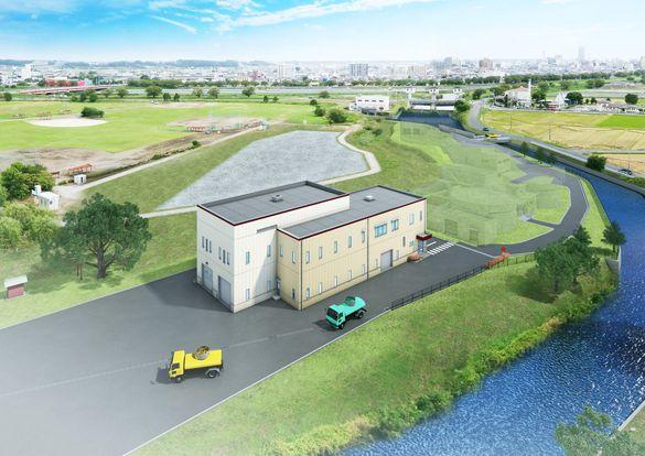 汚泥再生処理センターが間もなく完成します!page-visual 汚泥再生処理センターが間もなく完成します!ビジュアル