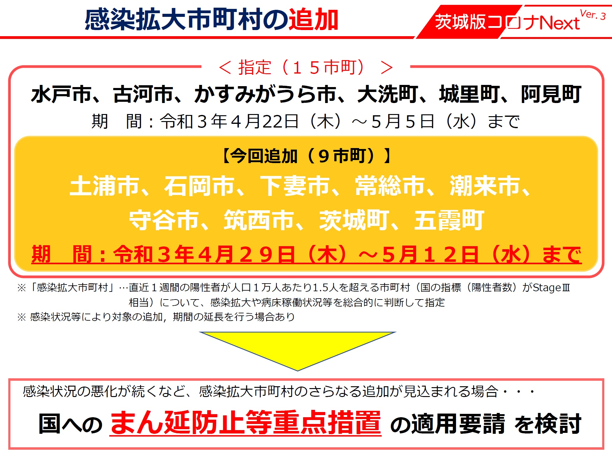 土浦市が感染拡大市町村に指定されましたpage-visual 土浦市が感染拡大市町村に指定されましたビジュアル